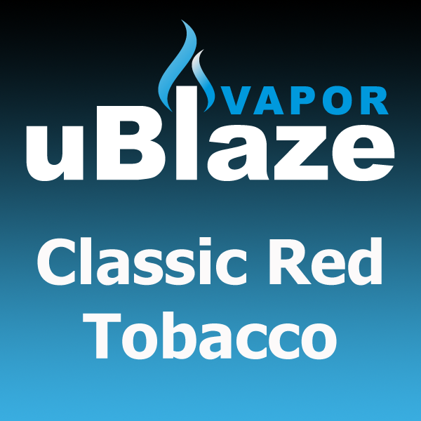 Classic Red Tobacco by uBlaze Vapor