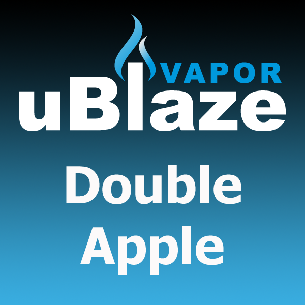 Double Apple by uBlaze Vapor