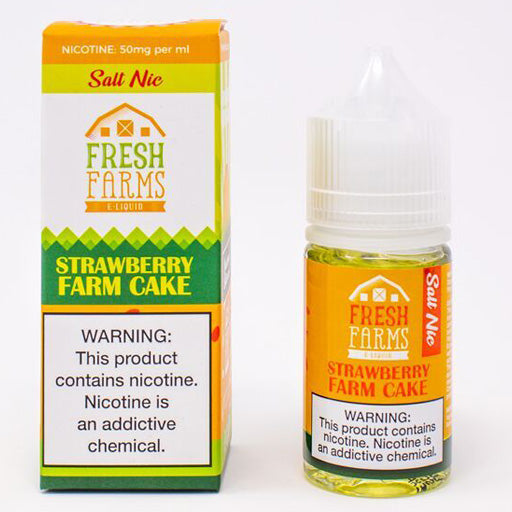 Fresh Farms Strawberry Farm Cake Nic Salt