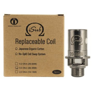 Box and Coil example of the iSub Innokin tank