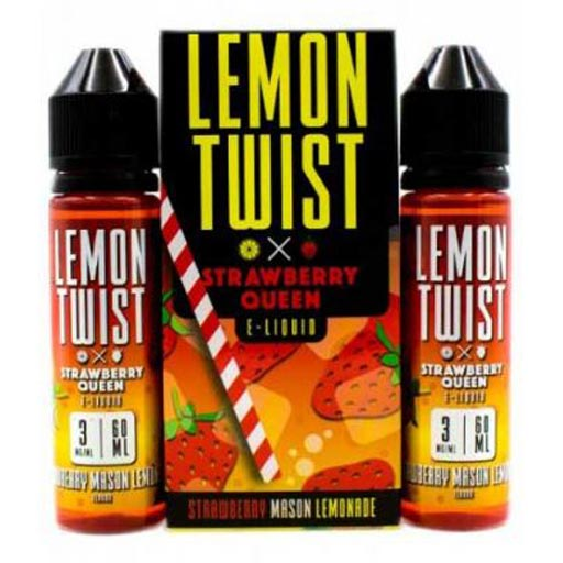 Strawberry Mason Lemonade by Lemon Twist