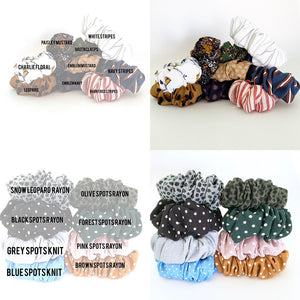Personalised Name Scrunchie