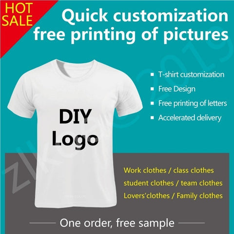 Customized your TShirts with your design men/women