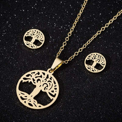 Fashion Pendant Necklace For Women Stainless Steel