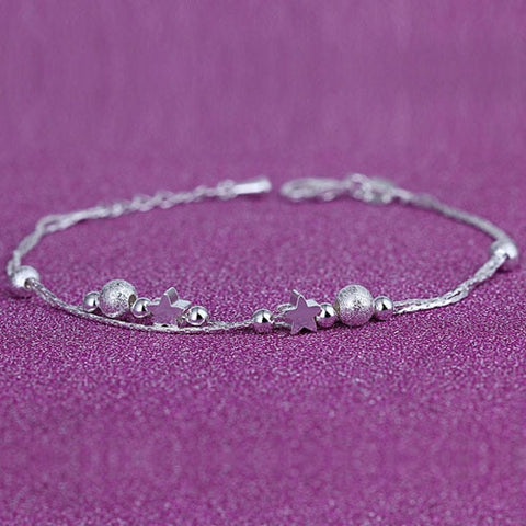 925 Silver Fine Fashion Anklets Gift