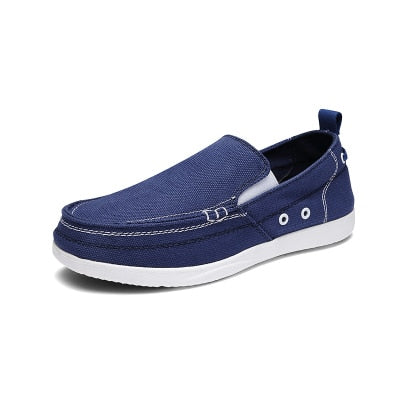 Ultralight Casual Men Canvas Shoes Slip-On Loafers