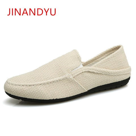 Men Hemp Shoes Loafers Ultralight