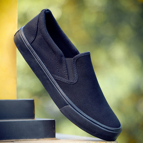 Simple Canvas Mens Loafers Comfortable shoes
