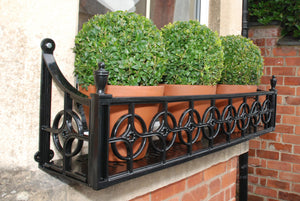 Georgian Window Box, Cast Aluminium