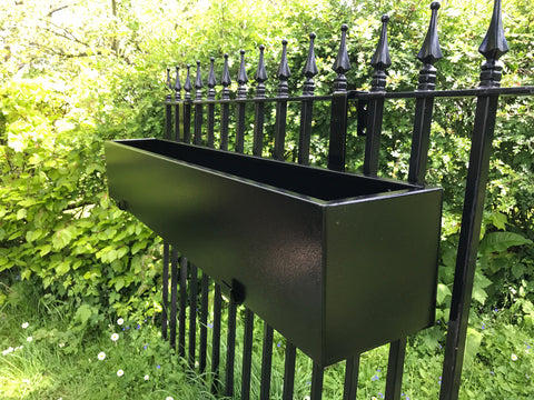 Low Trough Railing Brackets