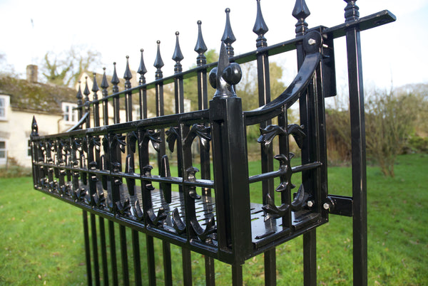 Railing brackets for Georgian and Victorian Window Boxes