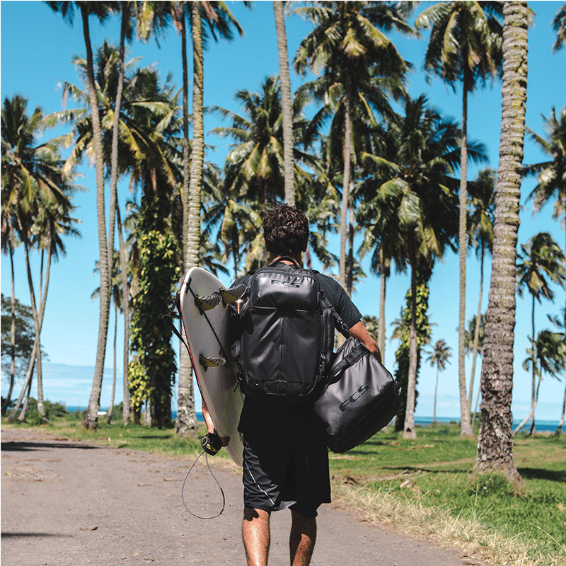 Black FCS backpack | Jungle Surf Store | Bali