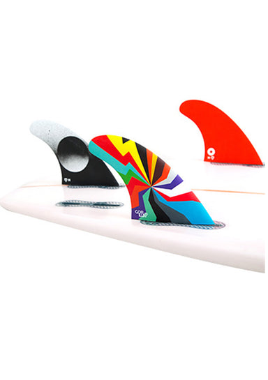Selling GORILLA FCS II Darkside Hyper Blam Graphic Thruster Fins | Medium Size | Jungle Surf Store | Bali Indonesia