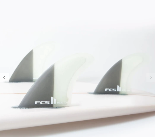 FCS II Reactor PC Medium Thruster Fins - Jungle Surf Store - Bali Indonesia