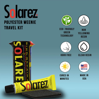 SOLAREZ Polyester Wennie Travel Kit - Jungle Surf Store