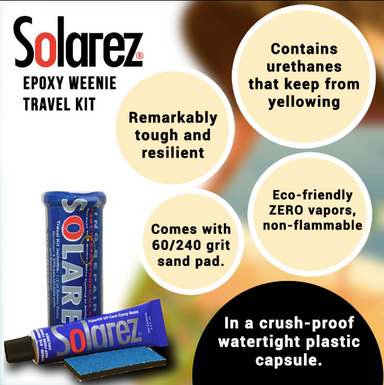 SOLAREZ Epoxy Wennie Travel Kit - Jungle Surf Store