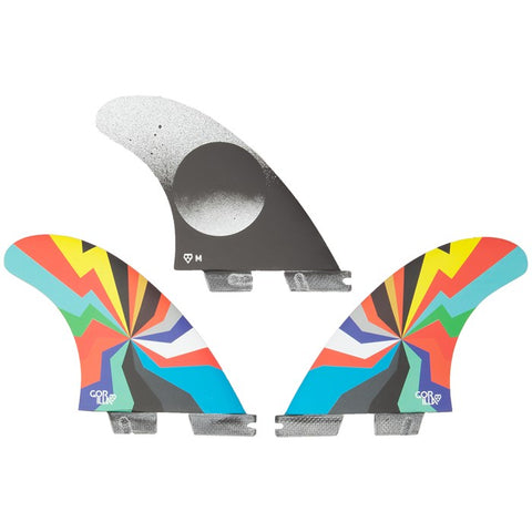 GORILLA FCSII Darkside Hyper Blam Medium Thruster Fins