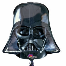 Globo Mylar superforma Darth Vader Helmet. - Mis Globos