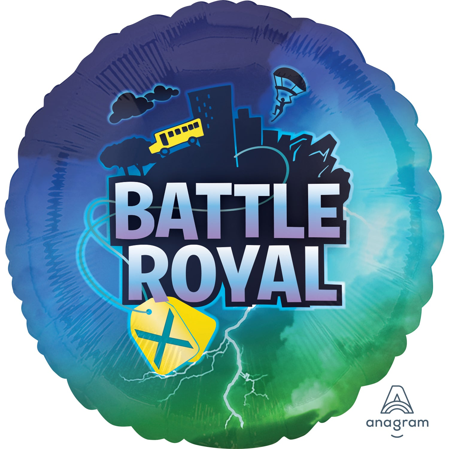 Globo Mylar Battle Royal de 45 cm. - Mis Globos