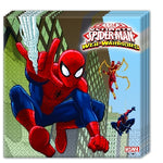 20 Servilletas Spiderman Warriors 33*33 Cm - Mis Globos