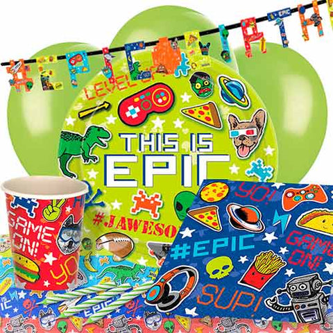 Pack Fiesta Epic Party - Mis Globos