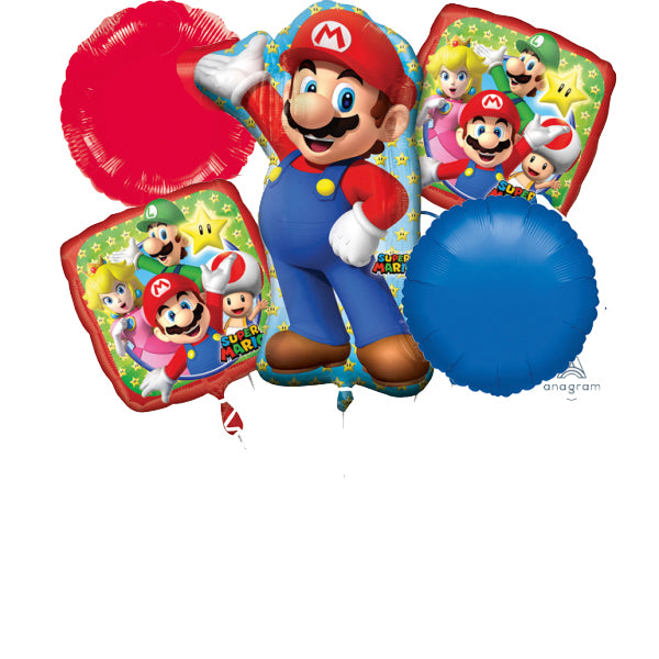 Kit Super Mario Bros - Mis Globos