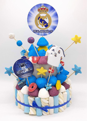 Tarta de chuches Real Madrid - Mis Globos