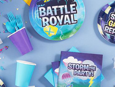 Pack Fiesta Battle Royal (Fornite) - Mis Globos
