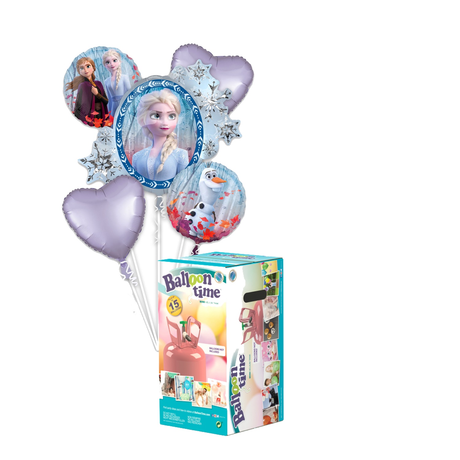 Pack Kit Frozen + Helio - Mis Globos