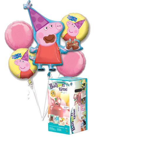Pack Kit Peppa Pig + Helio - Mis Globos