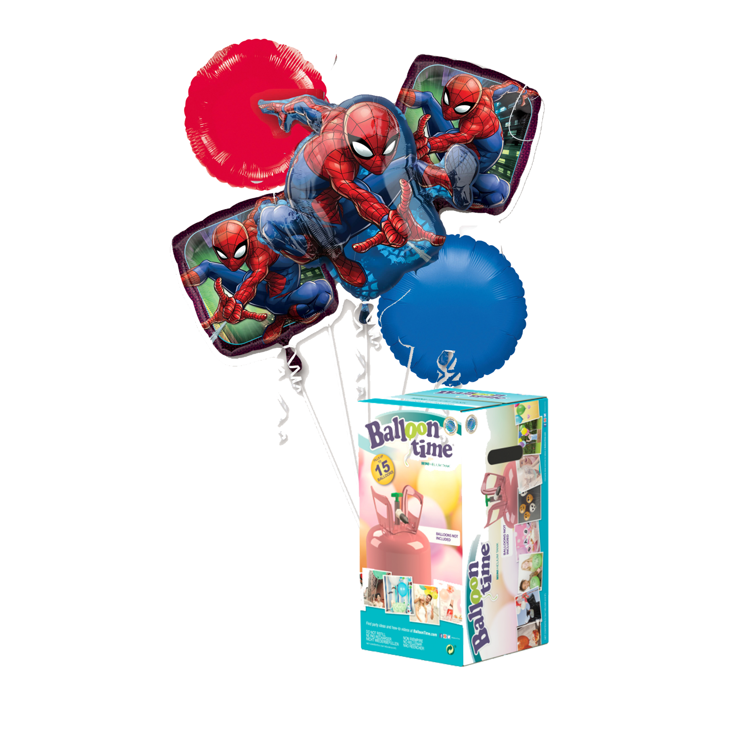 Pack Kit Spiderman + Helio - Mis Globos