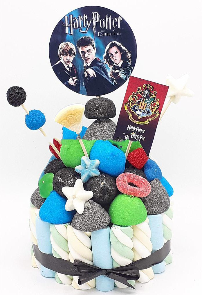 Tarta de chuches Harry Potter - Mis Globos