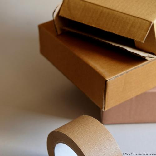 Darvaza Teas | Packaging items, box and tape