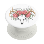 PopSockets PopGrip Boho Bouquet White, PopSockets