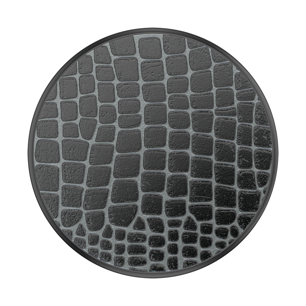 PopSockets PopGrip Embossed Metal Croc, PopSockets