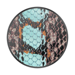 PopSockets PopGrip Embossed Metal Watersnake, PopSockets