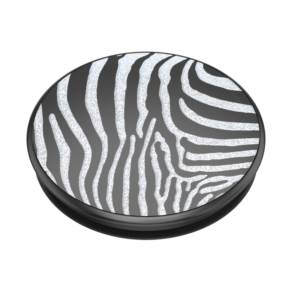 PopSockets PopGrip Embossed Metal Zebra