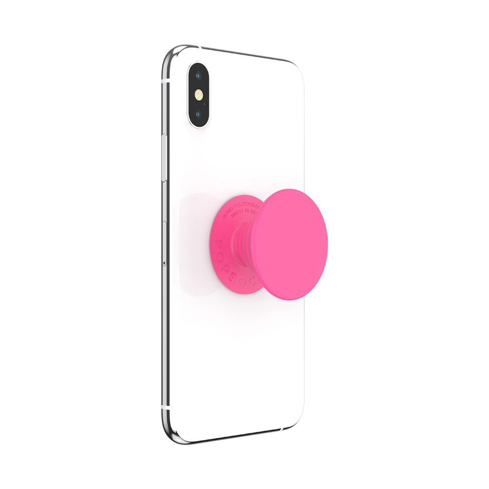 PopSockets PopGrip Neon Day Glow Pink, PopSockets