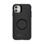 Otter + Pop Symmetry Case Black for iPhone 11, PopSockets