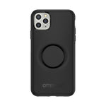 Otter + Pop Symmetry Series Case Black for the iPhone 11 Pro Max, PopSockets