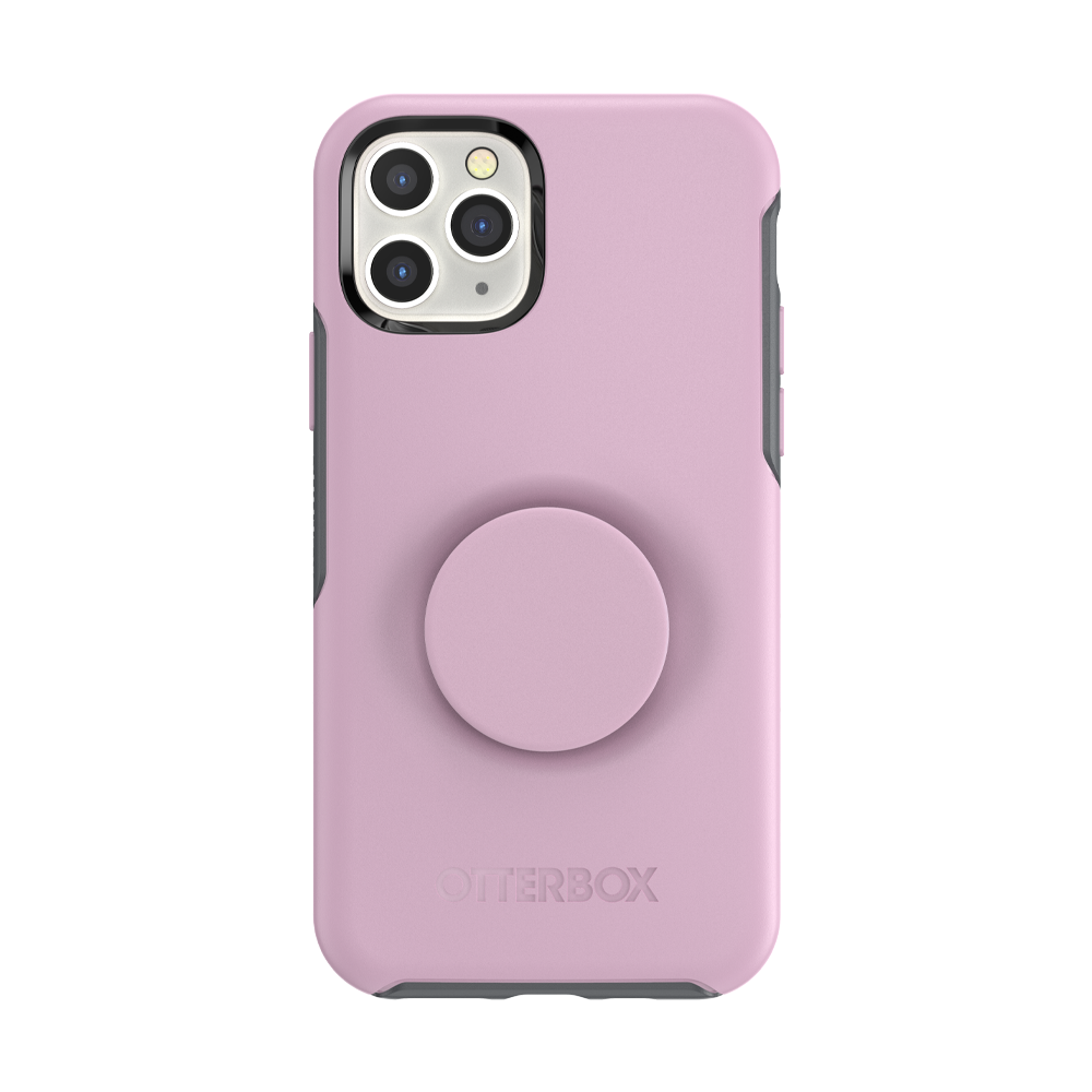 Otter + Pop Symmetry Series Case Mauveolous for the iPhone 11 Pro Max, PopSockets