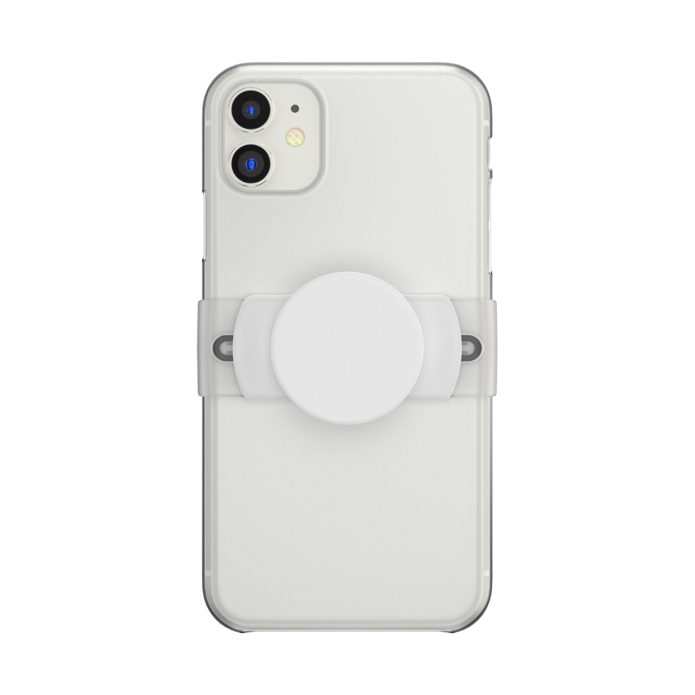 PopSockets PopGrip Slide Stretch White, PopSockets