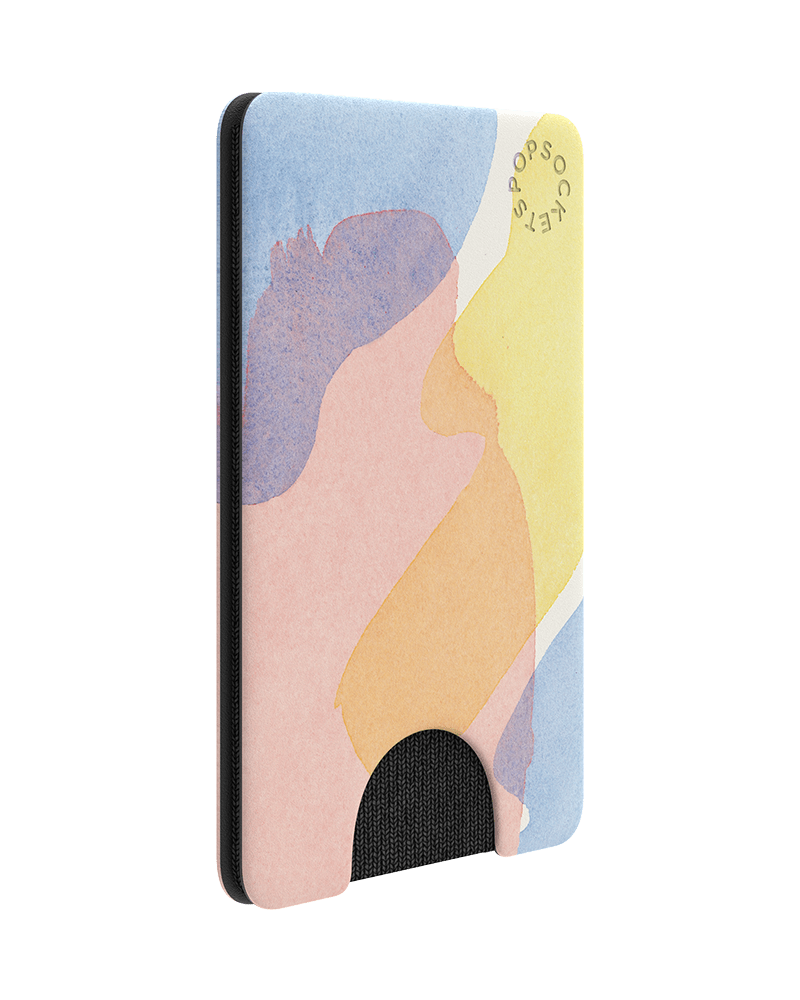 PopSockets PopWallet Watercolor Wash
