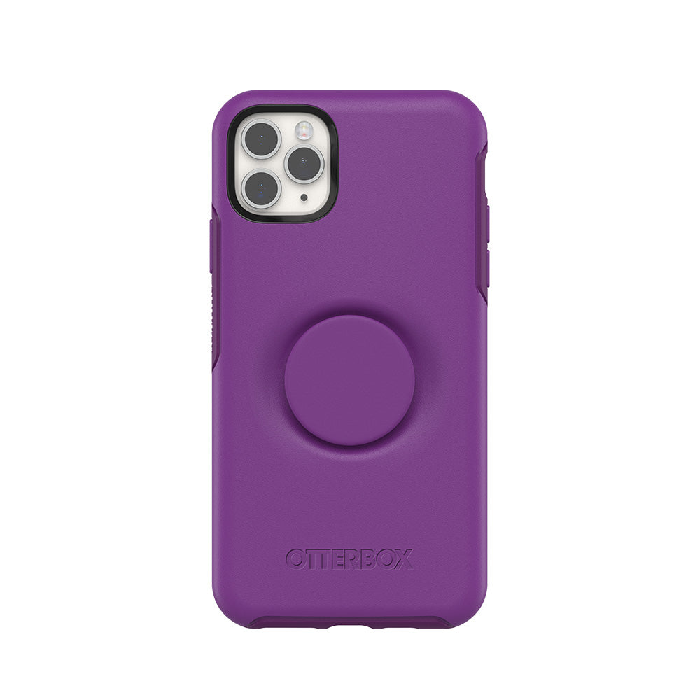 Otter + Pop Symmetry Series Case Lollipop for the iPhone 11 Pro Max, PopSockets