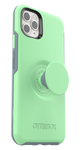 Otter + Pop Symmetry Series Case Mint To Be for the iPhone 11 Pro Max, PopSockets