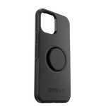Otter+Pop Symmetry Series for iPhone 12 Pro Max, Black, PopSockets