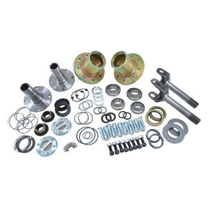 Yukon Gear Spin Free Locking Hub Conversion Kit For SRW Dana 60 94-99 Dodge