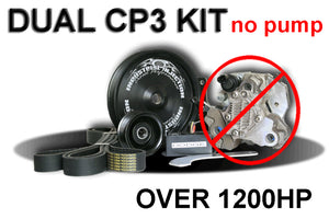 Industrial Injection 2003-13 Dodge 5.9L CR Dual Cp3 Kit Dodge 1200+ Hp (Kit Only)