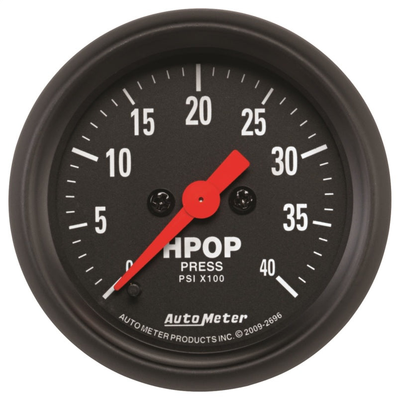 Autometer Z Series 2-1/16in 4K PSI High Pressure Oil Pump Gauge w/ Digital Stepper Motor