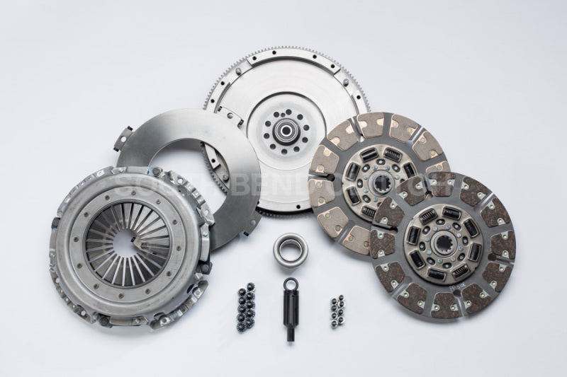 South Bend Clutch 99-03 Ford 7.3 Powerstroke ZF-6 Street Dual Disc Clutch Kit